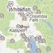 Map Search for Property Listings in the State of Montana